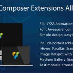 [Get] Visual Composer Extensions Addon All in One v3.4.8.8