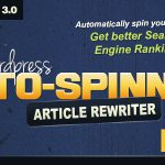 [Get] WordPress Auto Spinner v3.2.2- Articles Rewriter