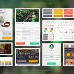 eCommerce Store UI Kit Free PSD