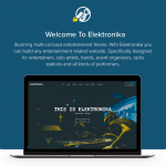 Elektronika – Music / Artist / Radio WordPress theme by cssignitervip Menu Cart