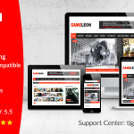 [Get] Gameleon v5.5 – WordPress Magazine & Arcade Theme