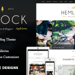 [Get] Hemlock v1.5.3 – A Responsive WordPress Blog Theme