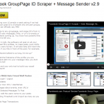 [GET] Facebook GroupPage ID Scraper + Message Sender v2.9 Cracked (Rankbook)
