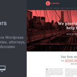 [Get] Lawyers v2.3.0 – Responsive Business WordPress Theme