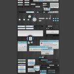 Slix UI Web App Kit PSD