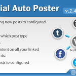 [Get] Social Auto Poster v2.4.3 – WordPress Plugin