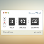 Timer Stopwatch Free PSD Interface