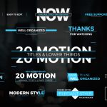 [Get] VideoHive Motion Titles & Lower Thirds 1 19161229