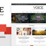 Download Voice v2.4 – Clean News/Magazine WordPress Theme
