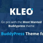 [Get] KLEO v4.1.6.2 – Pro Community Focussed, Multipurpose BuddyPress Theme