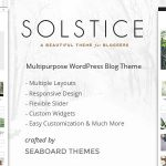 [Get] Solstice v1.0 – Multipurpose WordPress Blog and Magazine Theme