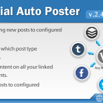 [Get] Social Auto Poster v2.4.1 – WordPress Plugin
