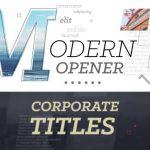 [Get] VideoHive Modern Opener Corporate Titles 17381530