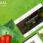 [GET] – CreativeMarket – Natural – Online Food WordPress Theme