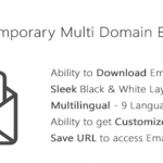 [GET] – TMail – Multi Domain Temporary Email System v2.0