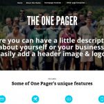 [GET] – The One Pager Version v1.3.2