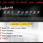 [GET] Professional YouTube 301 View Pumper – Multi Threaded – Proxy Support